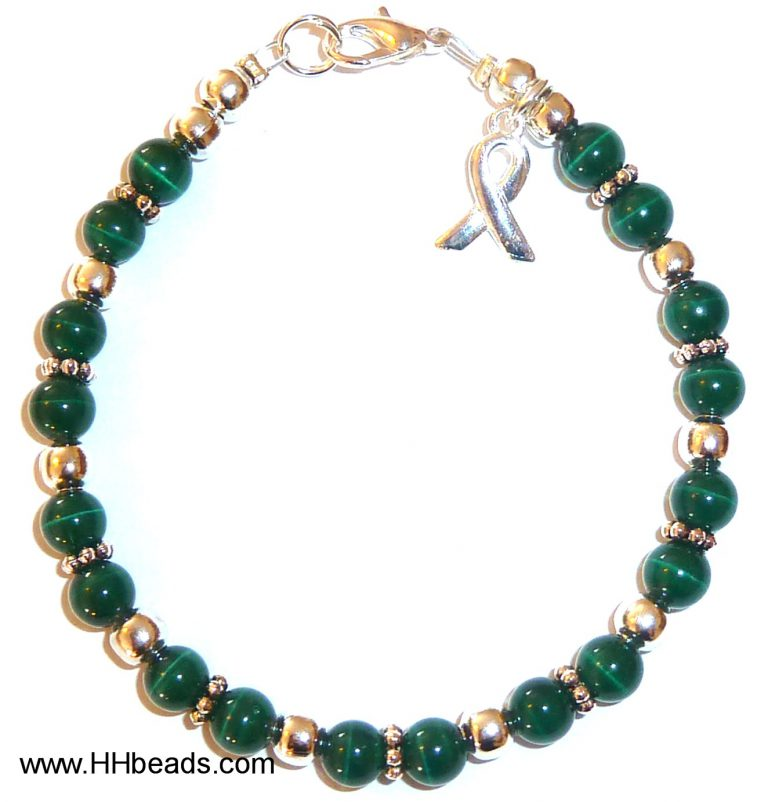 Kidney Cancer Awareness Bracelet - 6mm