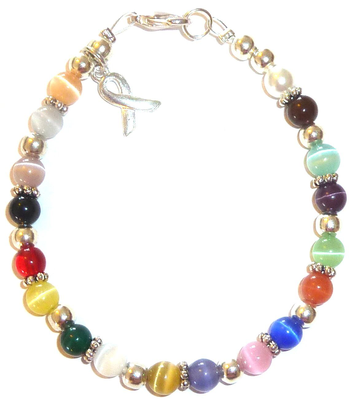 nursing gift idea - cancer awareness bracelet