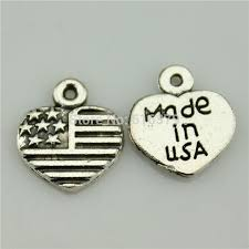 Made in the USA heart