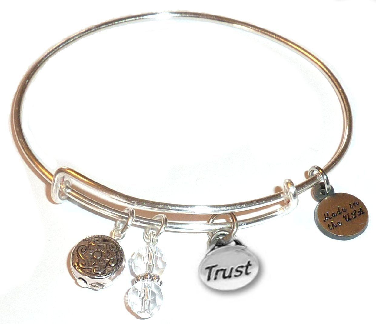 gift ideas for nurses - bangle bracelet trust