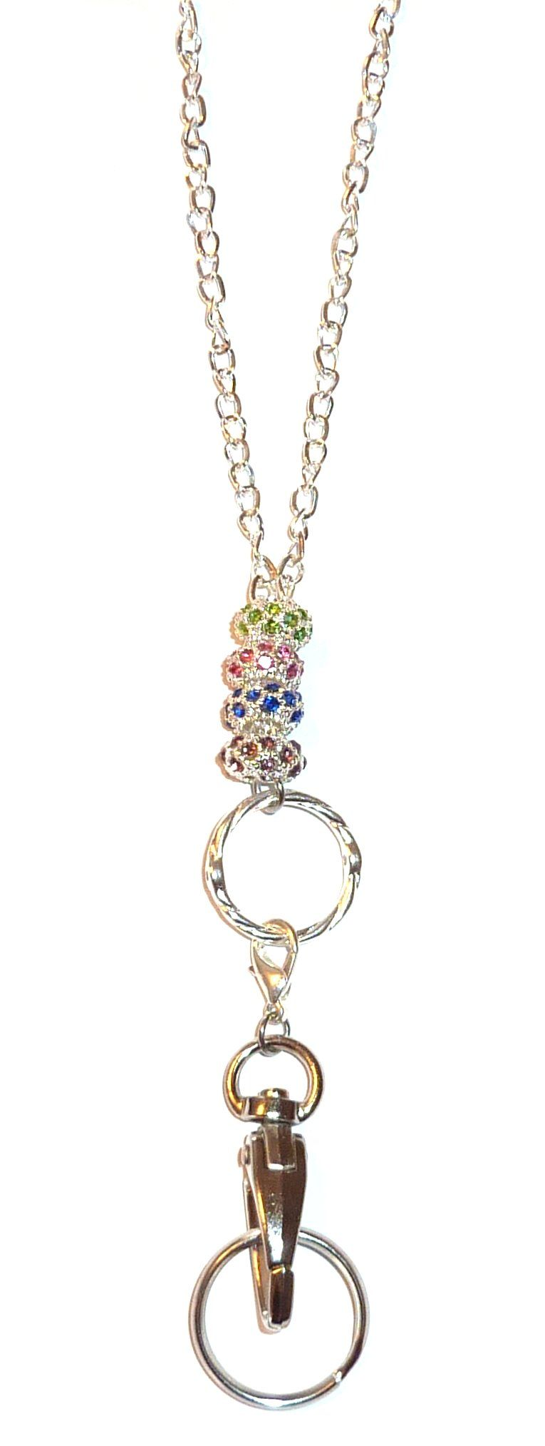 spring gift ideas - bling chain lanyard
