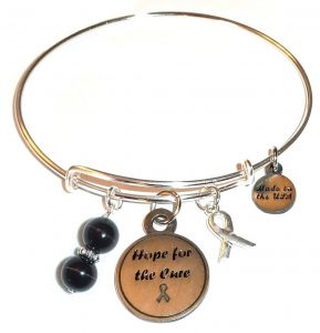 Skin Cancer Awareness Bracelet