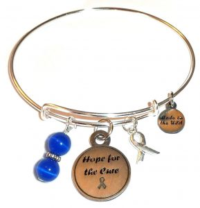 Prostate Cancer Awareness Hope For The Cure Bracelet