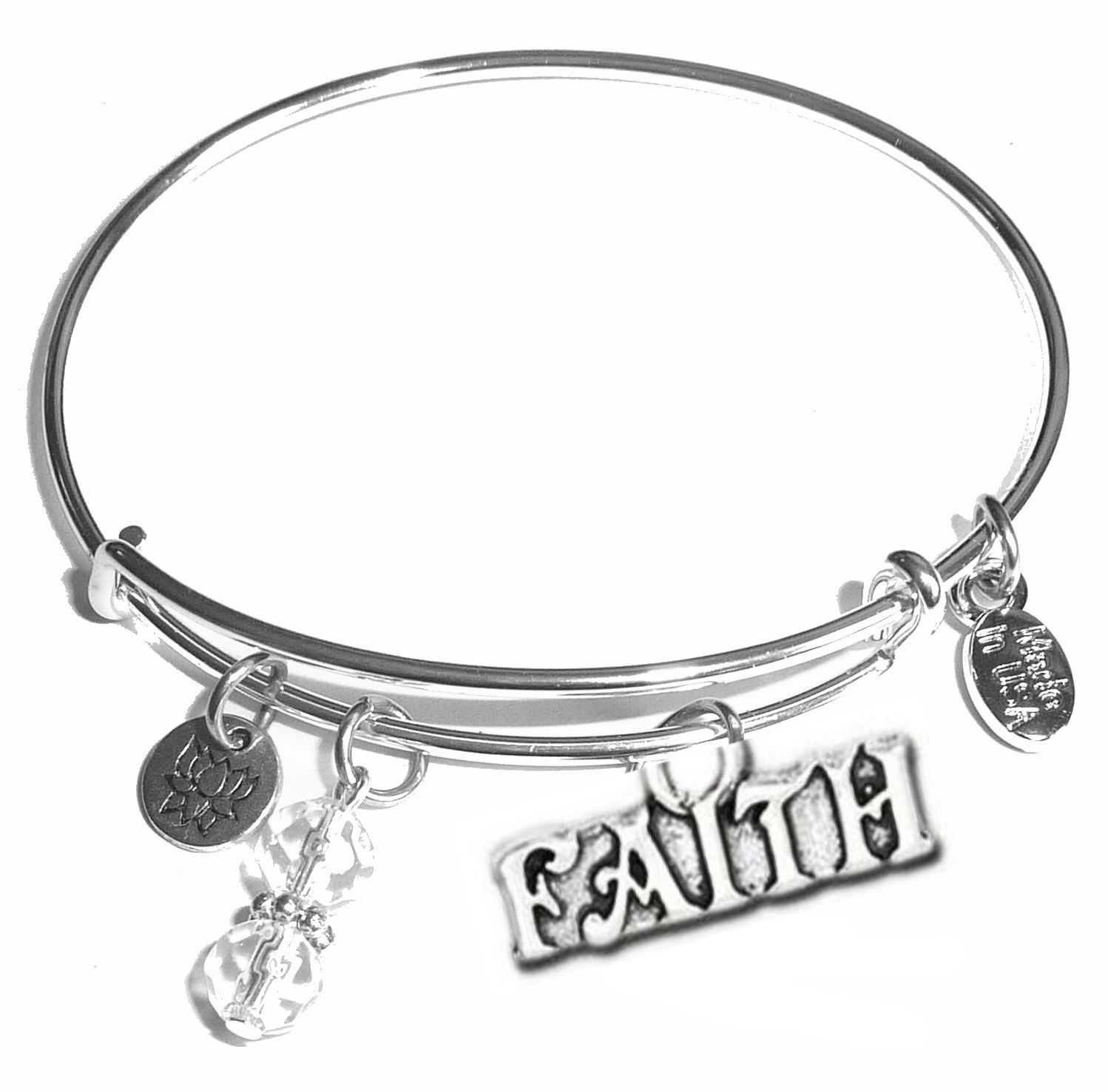 Charm For Bracelet - Faith