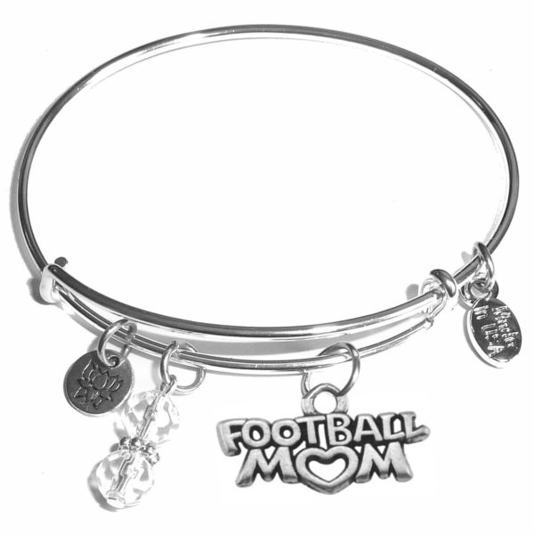 Bangle Football Mom