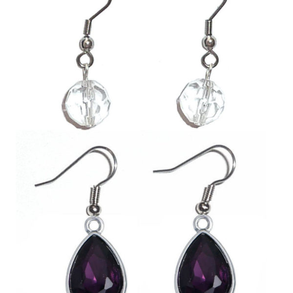Earrings Birthstone February