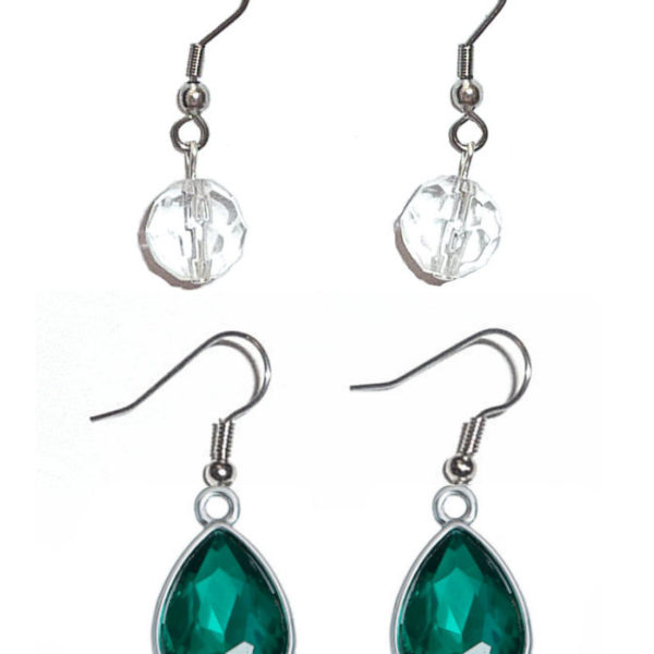 Earrings Birthstone May