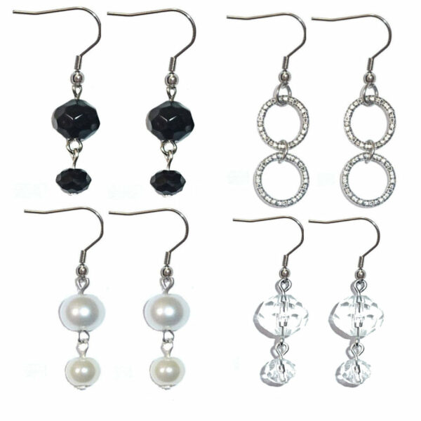 Earrings Dangle 4 Set