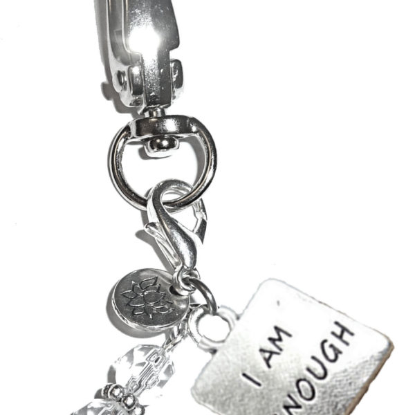 Key chain I am enough