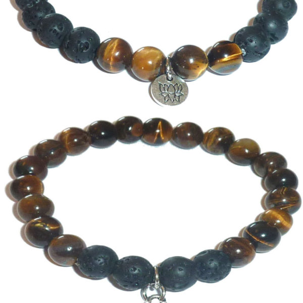 Tigers Eye I love dogs