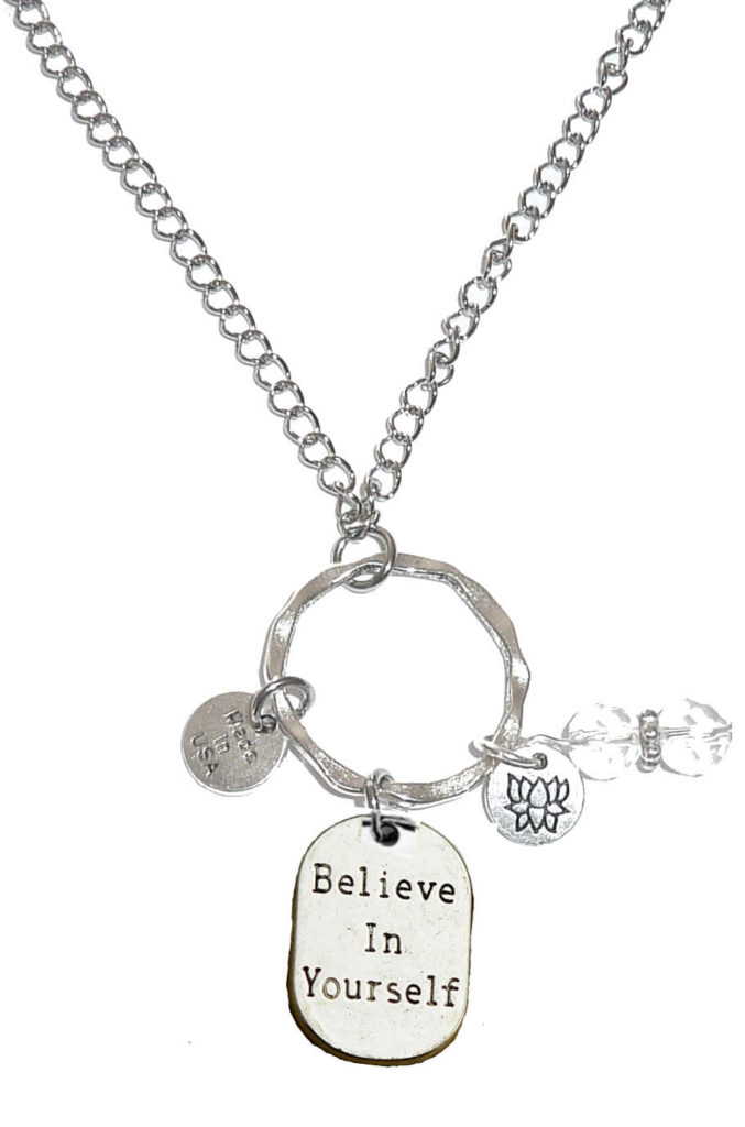 Rearview Mirror Charms - Believe In Yourself