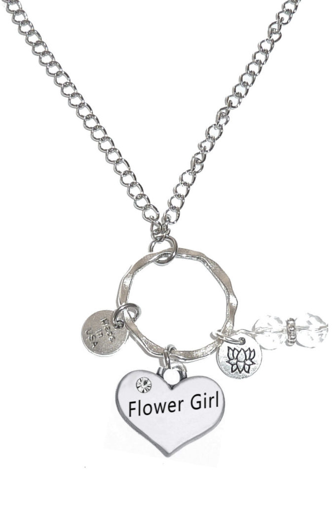 Car Mirror Charms - Flower Girl