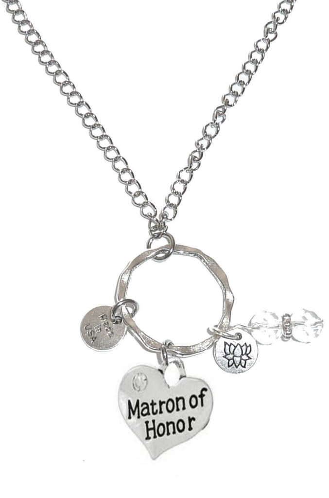 Car Mirror Charms - Matron Of Honor