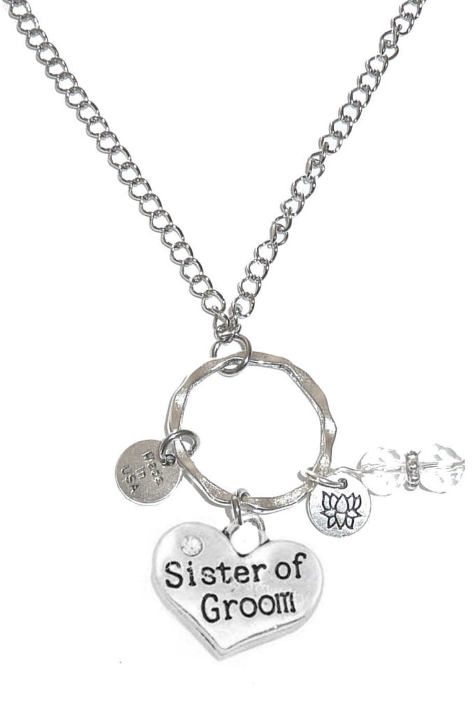 Car Mirror Charms - Sister Of The Groom