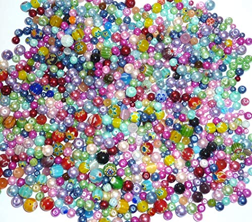 Assorted Beads For Plain Kit
