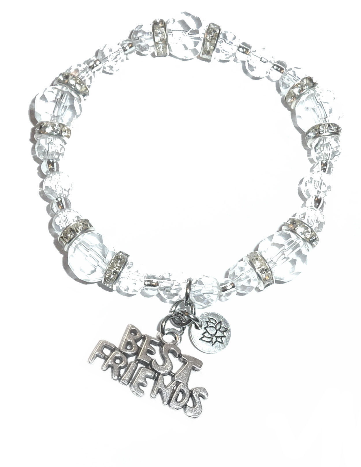 Best Friends Charm Bracelet Hidden