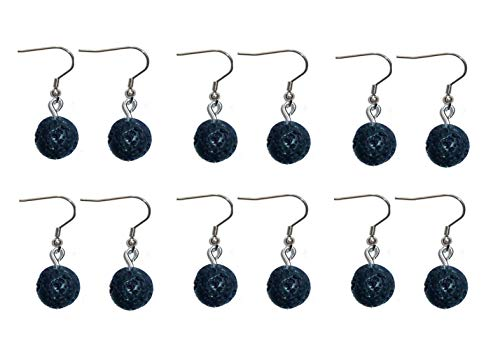 6 Sets Of Oil Diffusing Earrings