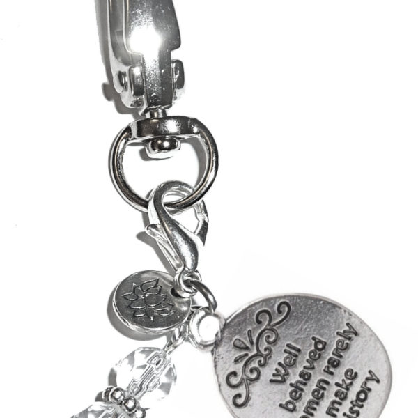 Key chain Well behaved women