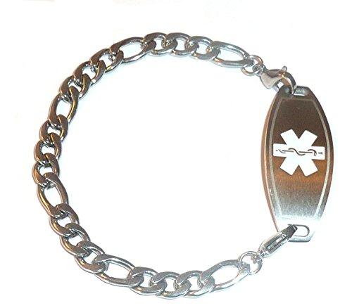Silver Medical Alert Bracelet