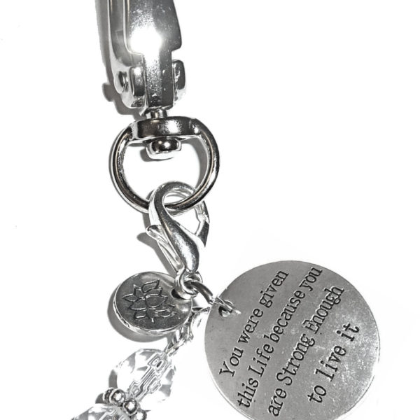 you were given this life keychain charm