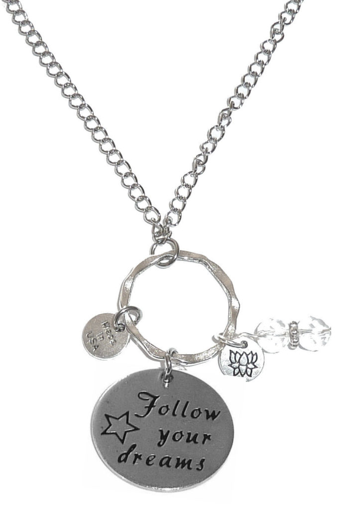 Rearview Mirror Charms - Follow Your Dreams