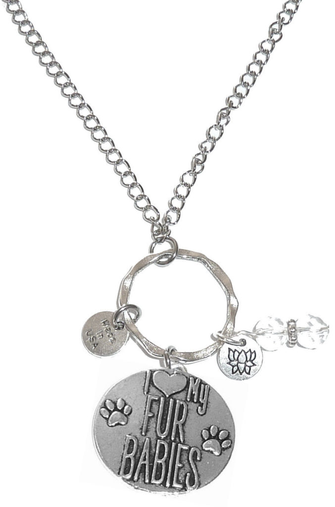 Rearview Mirror Charms - I Love My Fur Babies