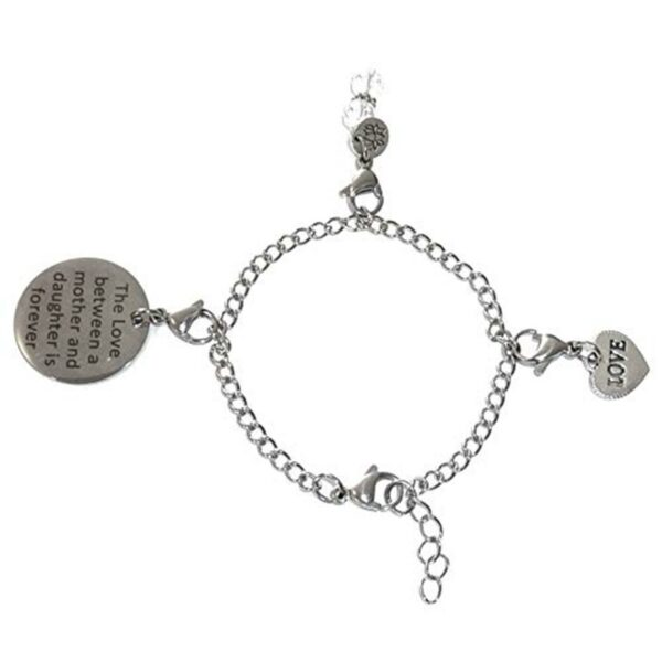 Mother & Daughter Mix - Custom Charm Bracelet Set