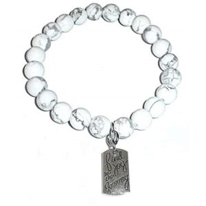Joyful Howlite Bracelet - Find Joy In The Journey