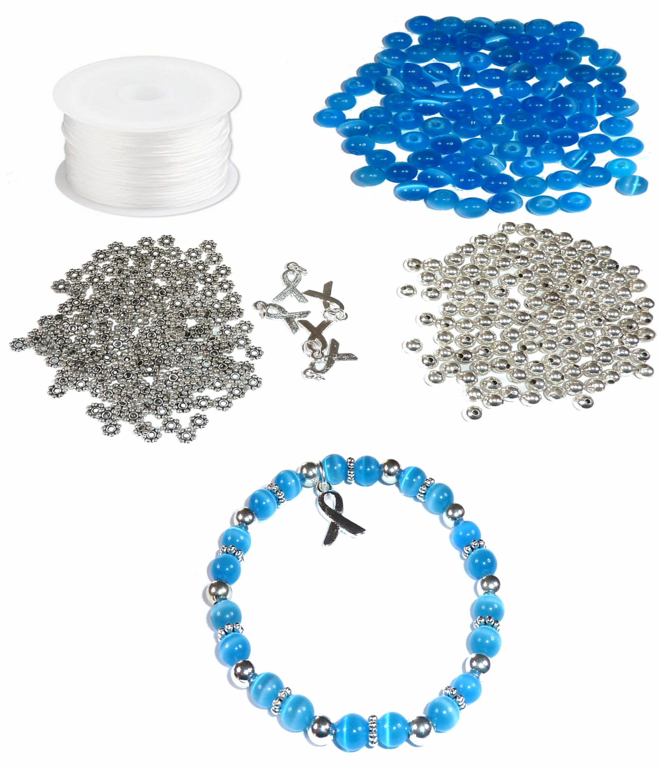 Cancer Jewelry Kit Fundraising Jewelry Cancer Survivor Bracelets Makes 65